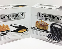 Dominion Home™ -Packaging Design - 4 boxes / images