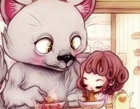 """""""Let's Have Lunch"""" - Illustration"""
