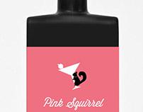 Pink Squirrel - Package Design