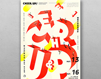 Poster Design - CHEER UP!