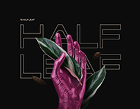 HALF LEAF • Free Mockup