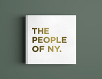 The people of NY – Copywriting and layout design.