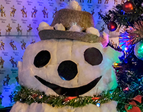Mr Snowman presents Christmas Tree 2015