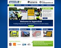Web design for Appendix B