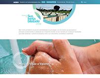 Relatório de Sustentabilidade Aegea 2104