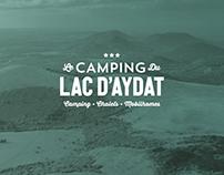 Camping du Lac d'Aydat / Branding