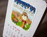 Infomir's Calendar 2015