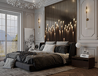 White Classic bedroom