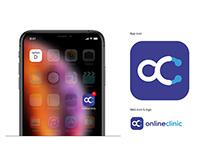 Online Clinic Logo Design