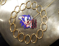 Sonic the Hedgehog necklace