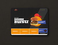 Packet Burger Web Design