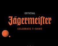 Official Jagermeister Celebrate T-shirt