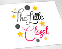 "Logo for ""The Little Closet"""