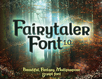Fairytaler | Multipurpose script font