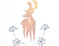 Floral Animals