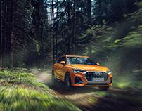 Audi Q3   Forest Run