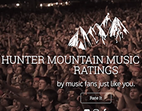 Music Festival Landing Page