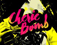 Cherie Bomb - Brush typeface