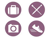 Hobbies/Interest icons