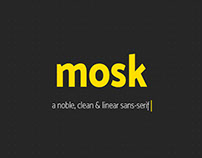 Free Mosk Typeface For Artists
