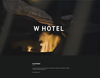 W Hotel Video Project