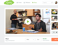 Quirky Product Landing