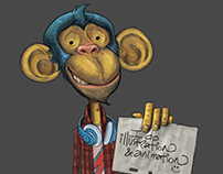 Promotional Material: Monkey for Hire