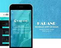 HARAND Mobile App Design