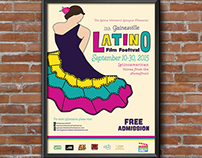 Latino Film Festival: Poster | Rackcard | Booklet