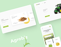 Agrobiz Website Redesign