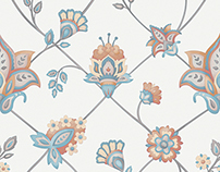 Jacobean Textile Design