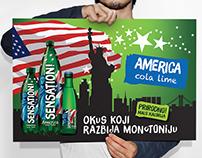 Sensation // America - cola lime