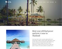 About Page - Hotel WordPress Theme
