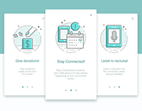 Onboarding Icons Illustrations