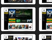 Smart TV - Tablet version - UI/UX