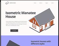 Isometric Manatee House