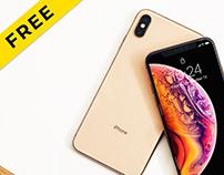 Iphone Xs - Free Mockup