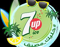 7UP Summer branding