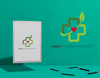 AAM Parapharmacy - Logo Design