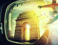 Ski india Poster Art