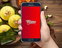 UI design: Tuisine Food App