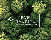 Eve Hacking Landscape & Garden Design branding