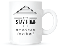 American Football Coffee Concept
