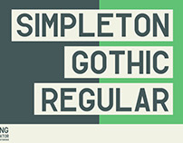Simpleton Gothic Regular