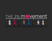 """The 3% Movement - """"Switch to Diversity"""" Poster"""