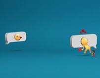 Nescafé Emojis print (2016)