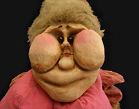 Lady Chubby - Full Size Puppet