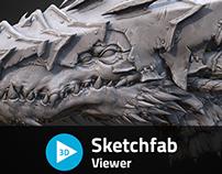 3D Creature Bust