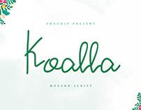 Koalla Handwritten Font