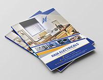 Company Profile Design RAJA ELECTRICALS